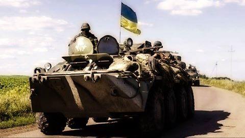 Боевики боятся удара сил АТО, илюстрация
