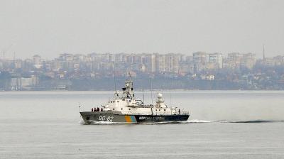 Российские корабли шныряли возле судна ГПСУ