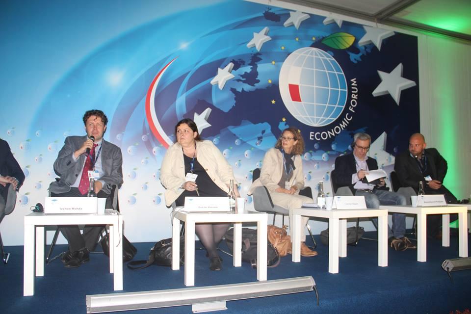 Члены украинский делегации в Крынице-Здруй