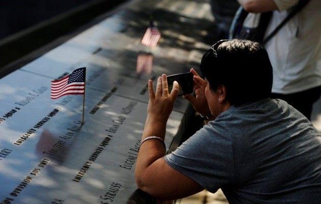 Годовщина теракта 11 сентября в США.