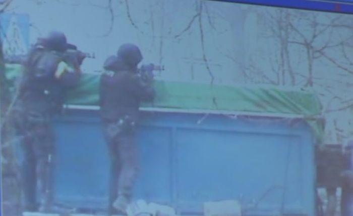 Опубликовано новое видео расстрелов на Майдане