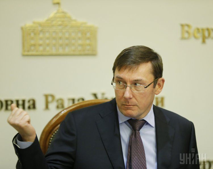 Луценко лукавит, говоря, что у него нет политических амбиций