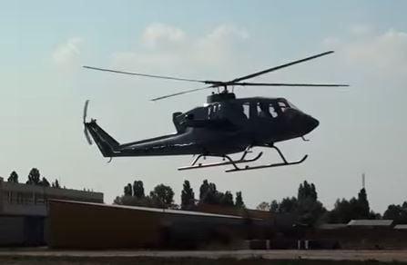 Первый полет нового украинского вертолета
