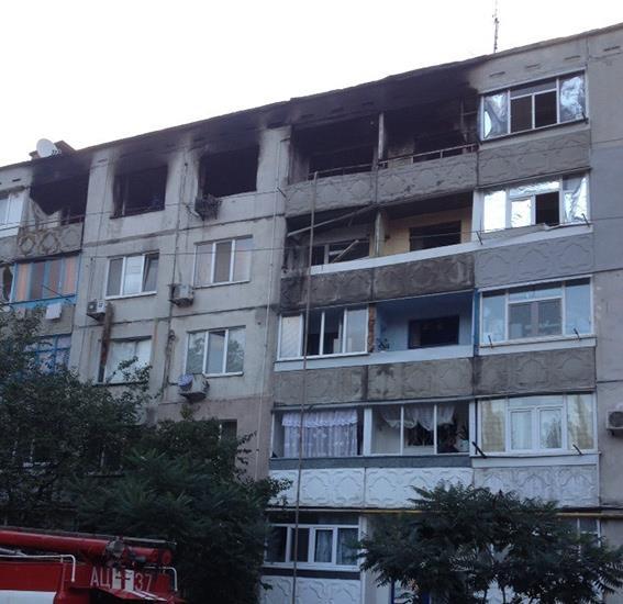 Результаты взрыва в Павлограде
