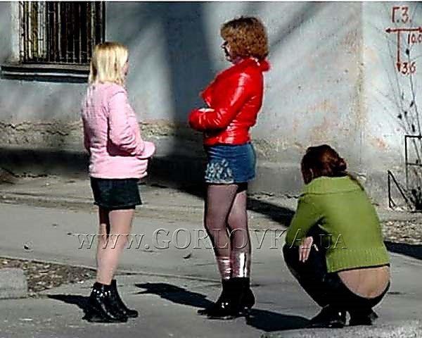 Проститутки в зоне АТО
