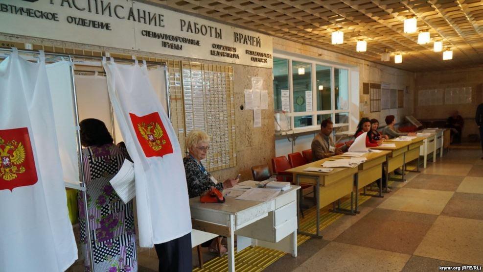 Выборы в Госдуму в оккупированном крыму