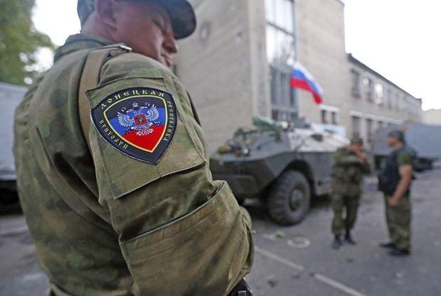 Российские военные на Донбассе, иллюстрация.