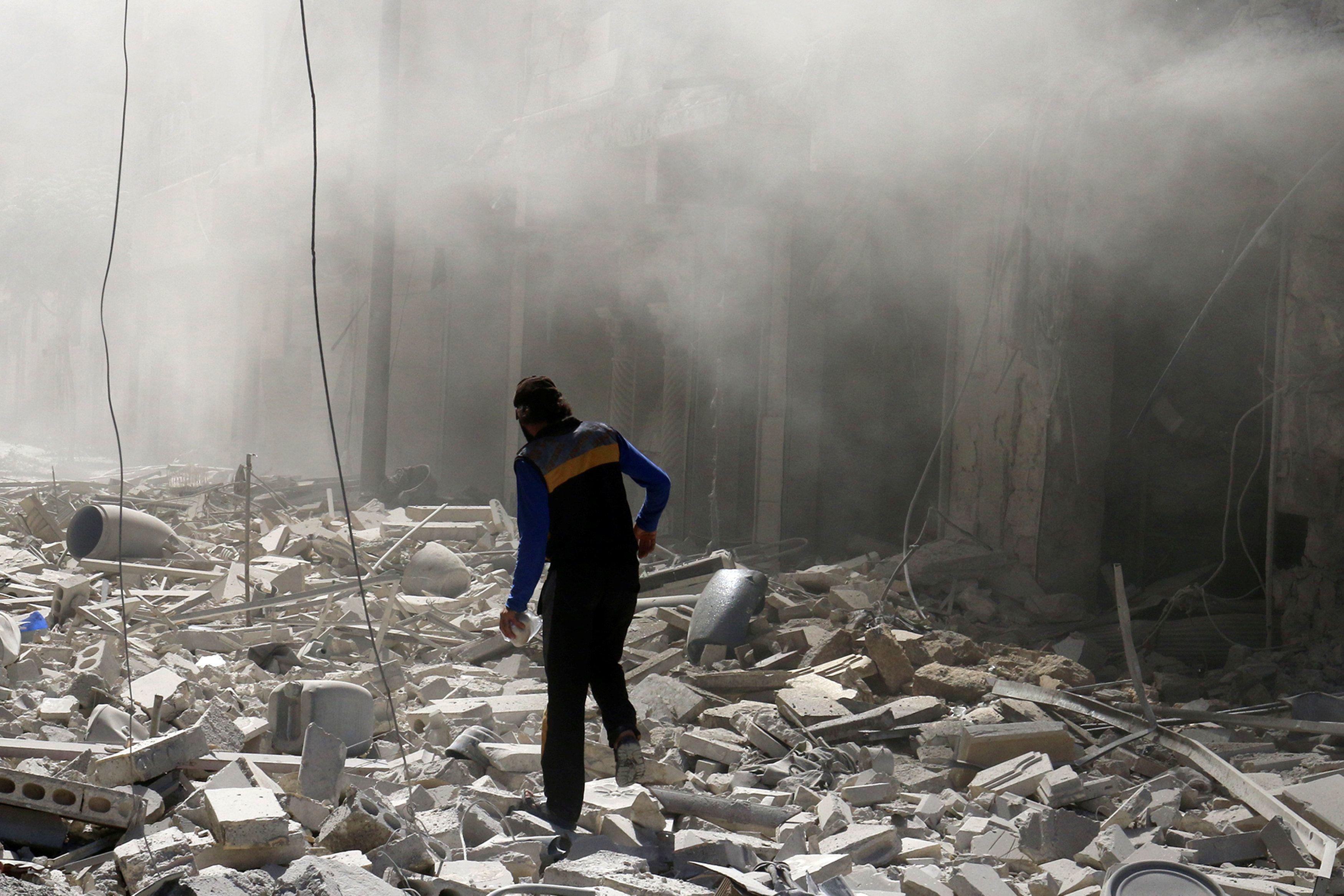 Бои в Сирии продолжаются.