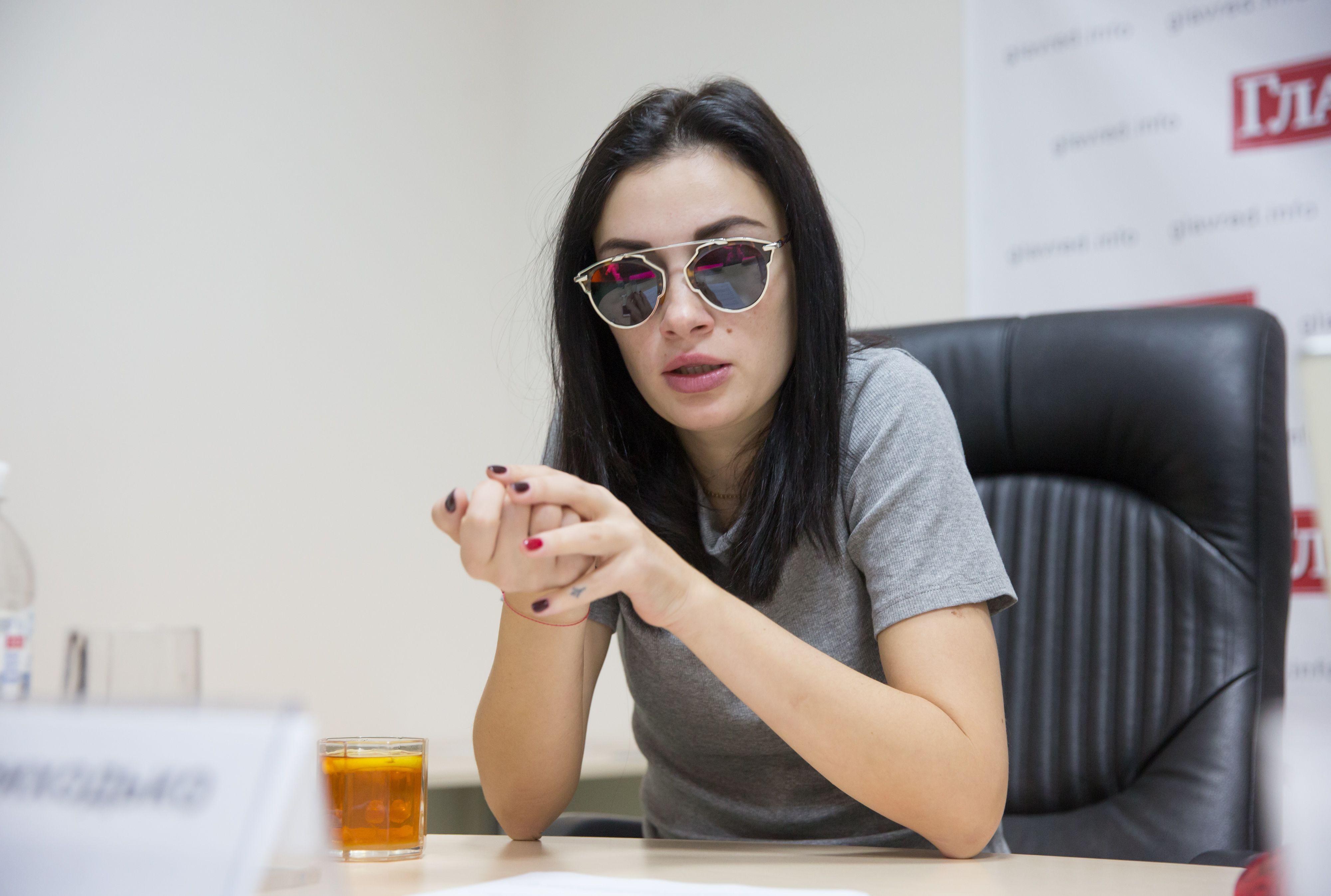 Анастасия Приходько решила пойти в политику