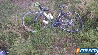 Последствия ДТП с велосипедистами на Киевщине