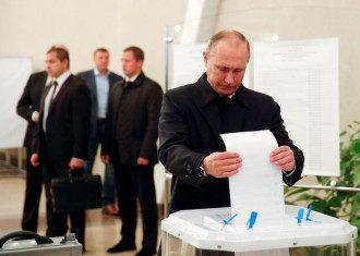 Путин, выборы, голосование