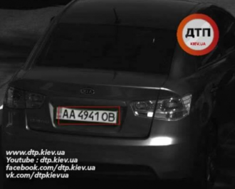 Журналисты показали фото авто, якобы сбившего девушку