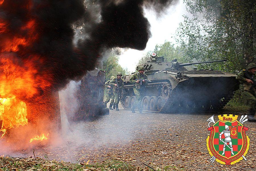 Военный учения в Беларуси, иллюстрация