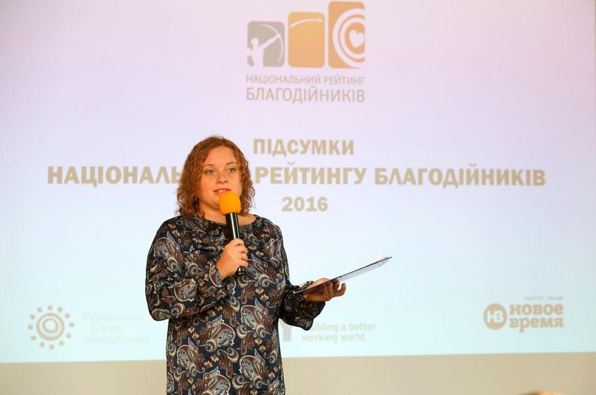 Организатор рейтинга Анна Гулевская-Черныш