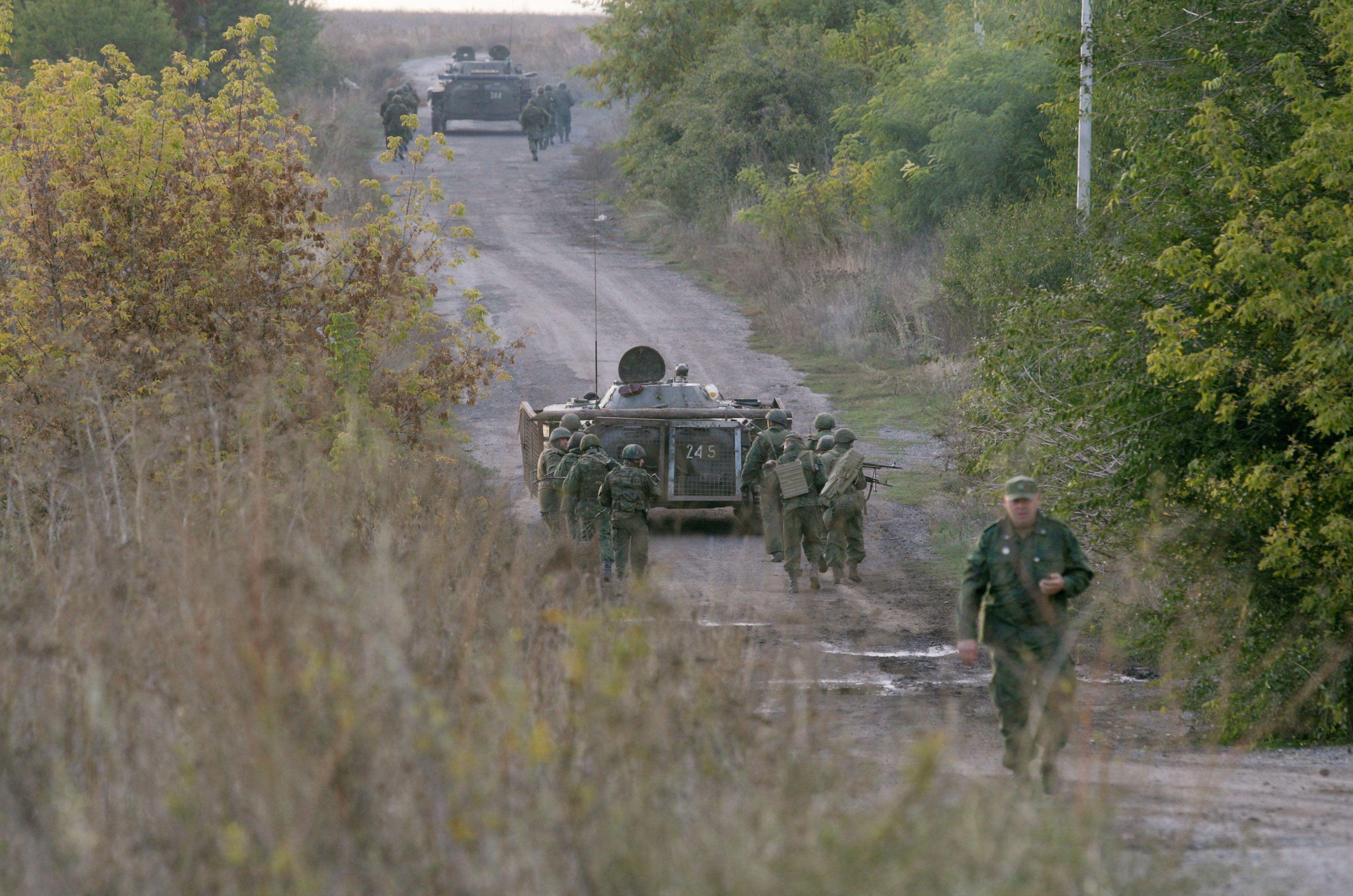 Отвод войск Петровское