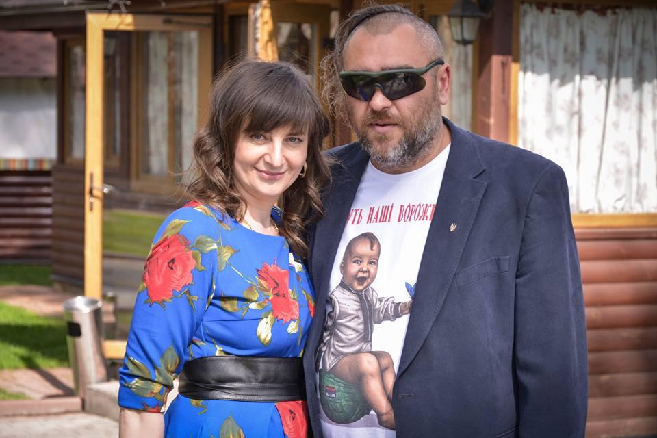 Володимир Регеша з дружино Наталею