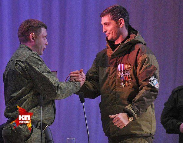Захарченко и Гиви