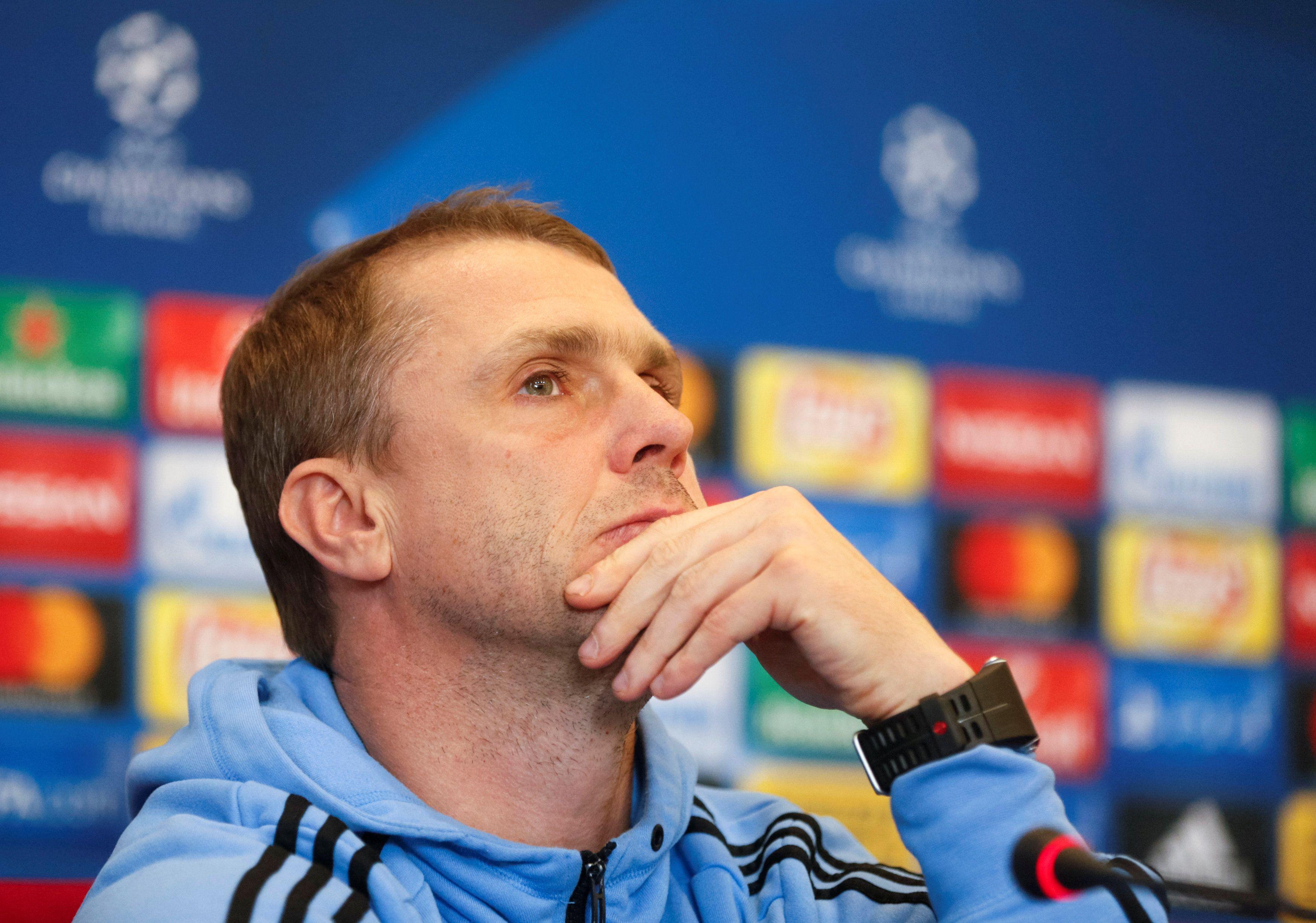 Ребров: важны желание и страсть футболистов Динамо