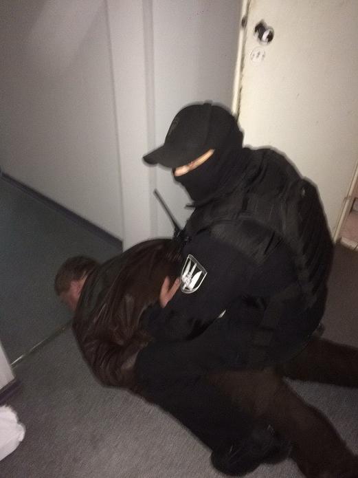 Задержание злоумышленника
