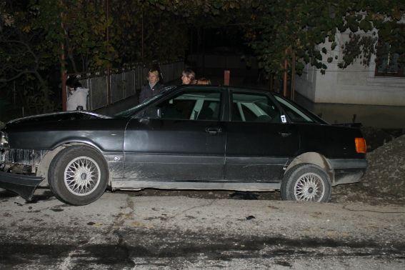 Автомобиль, в котором ехал священник