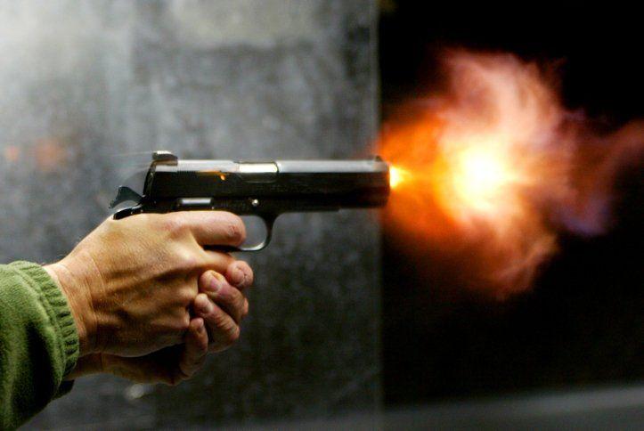 Пистолет, иллюстрация