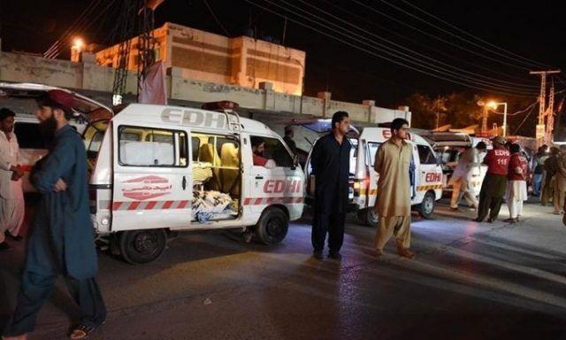 Нападение на полицейской академии в Пакистане.