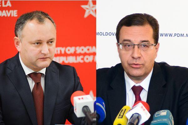 Игорь Додон и Мариан Лупу