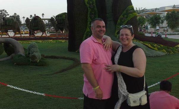 С мужем Игорем