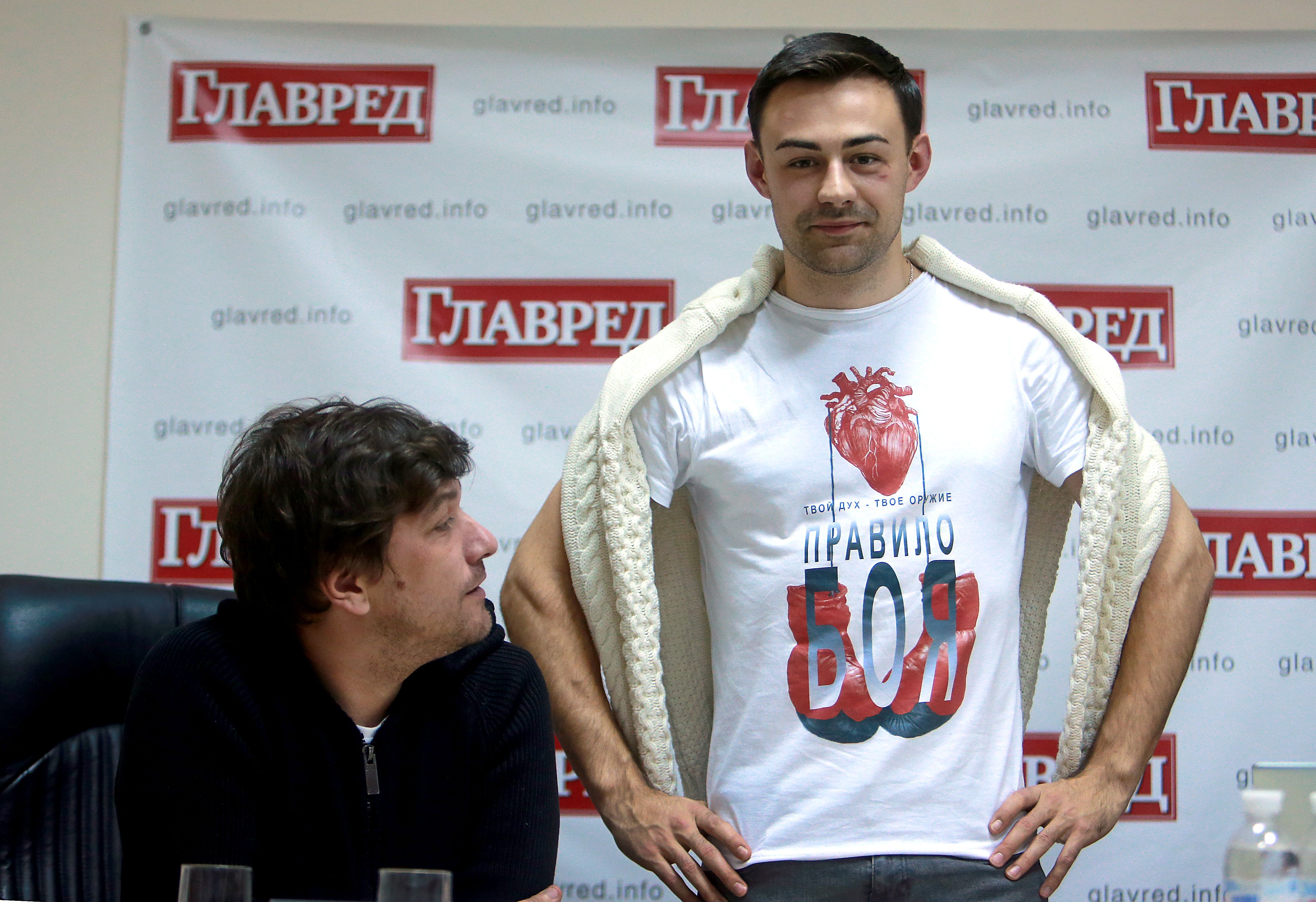 Алексей Шапарев и Владислав Никитюк