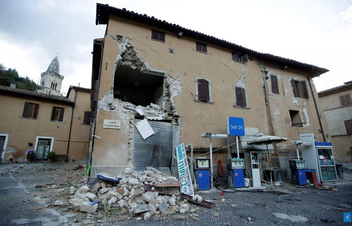 В Италии произошло новое мощное землетрясение