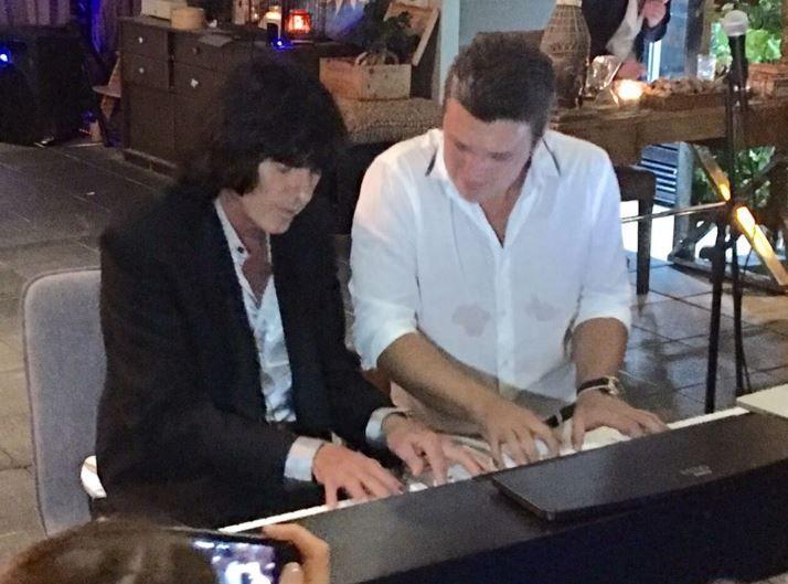 С музыкантом Дидье Маруани