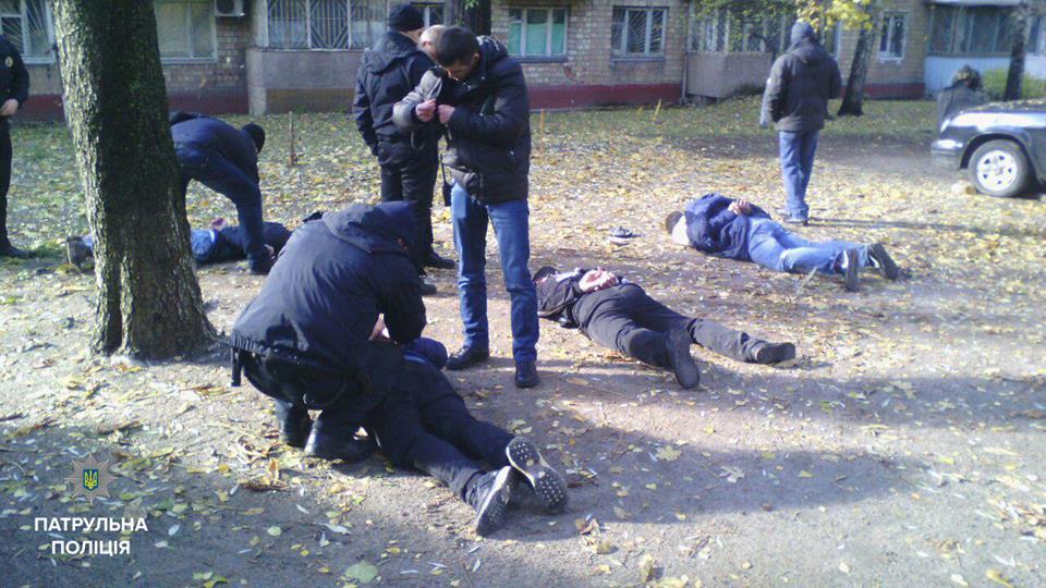 Задержанные грабители