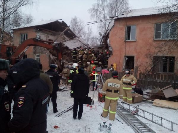 В России в жилом доме прогремел взрыв