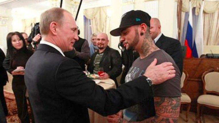 Владимир Путин и Тимати