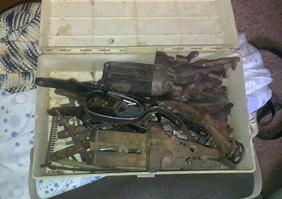 На Херсонщине полиция изъяла у мужчины оружие