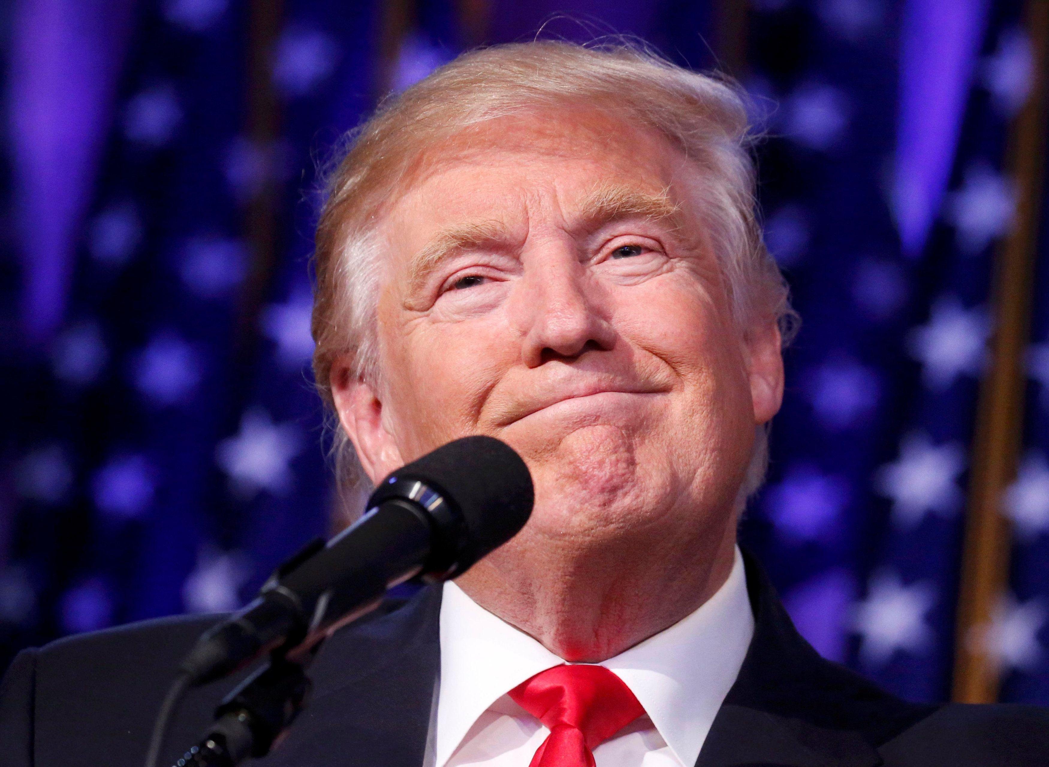 Победа Трампа на президентских выборах в США.