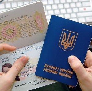паспорт, Украина