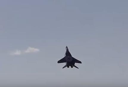 Журналисты узнали, что в России разбился неуправляемый МиГ-29