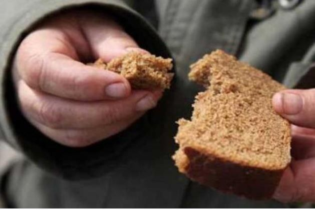 ЛНР, Ровеньки, хлеб, голодающий
