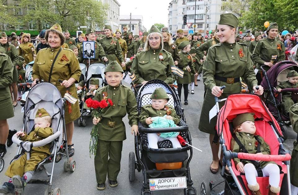 Празднование Дня Победы в Крыму