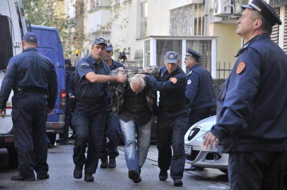 Протесты в Черногории, иллюстрация