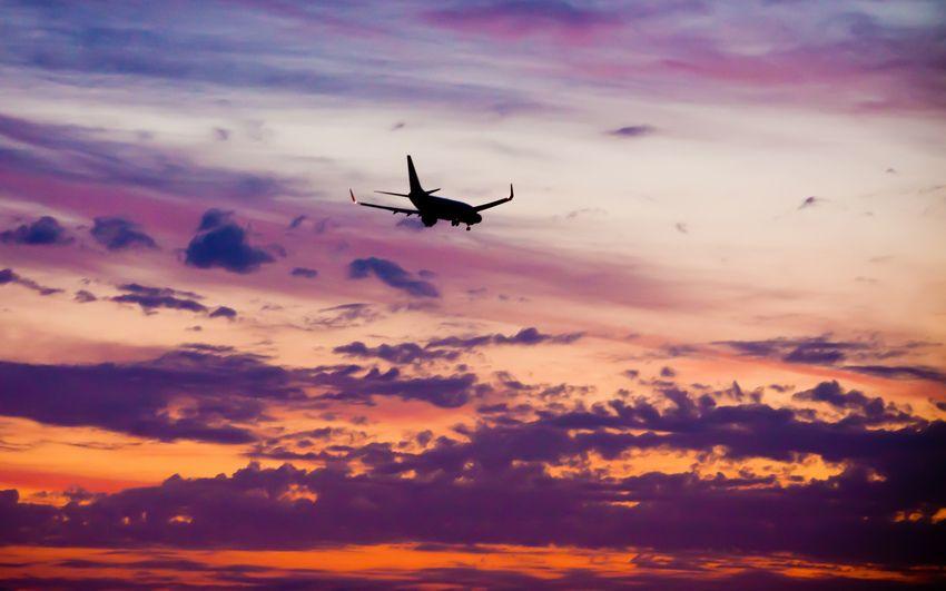 В Днепре аварийно сел самолет из Египта