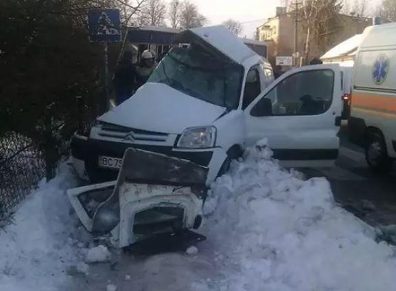 На Львовщине в результате ДТП есть погибший