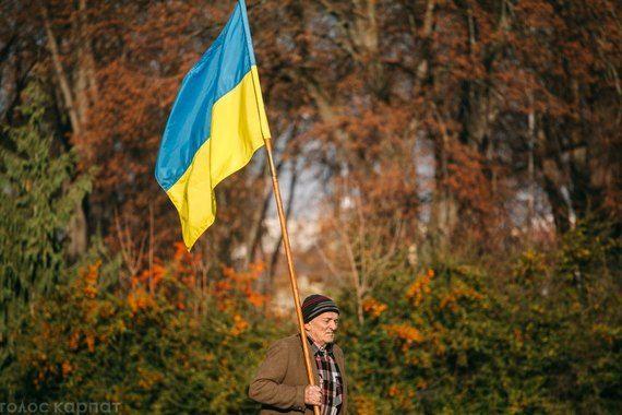 В Ужгороде состоялся молебен за Украину