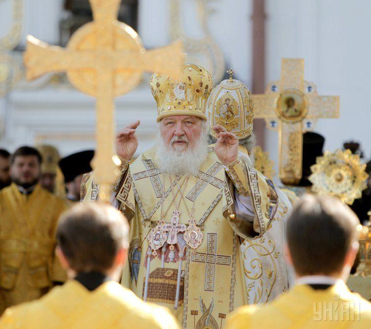 Киев-2013. Патриарх Кирилл на праздновании 1025-летия Крещения Руси