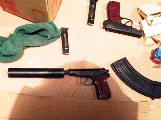 Оружие и боеприпасы разбойников