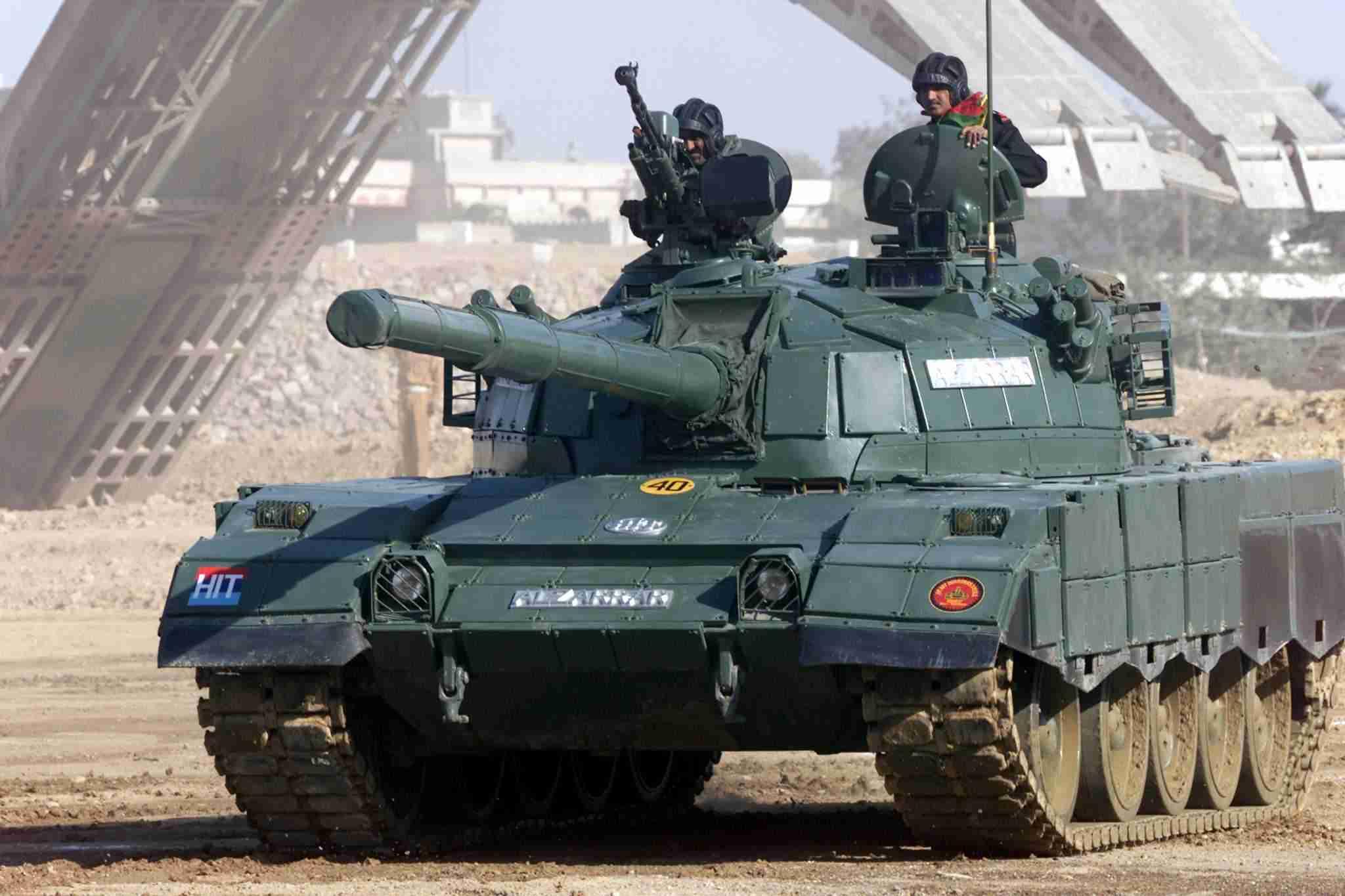Украина договорилась модернизировать пакистанские танки