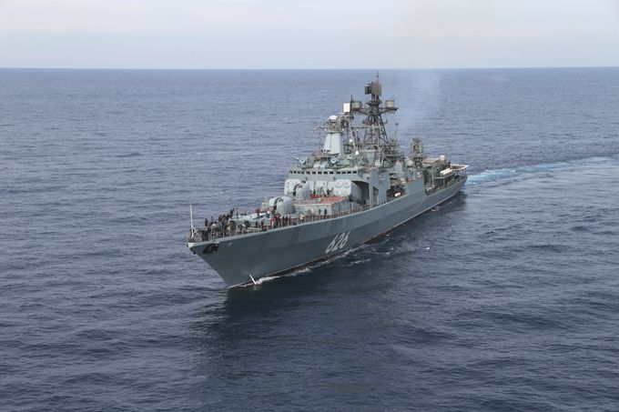 Противолодочный корабль Северного флота РФ