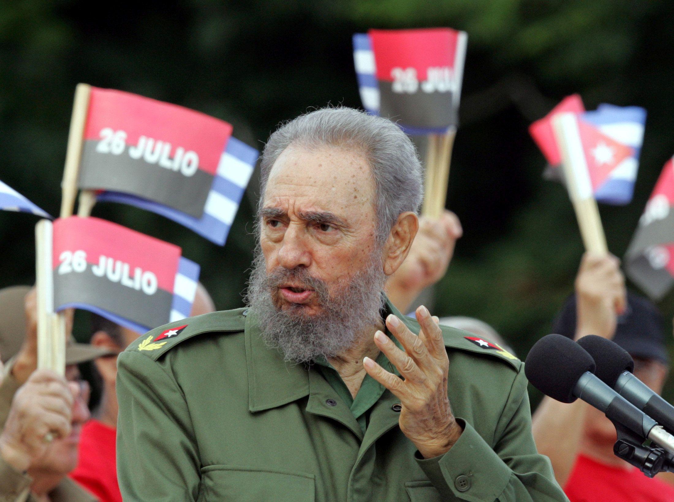 Фидель Кастро умер на 91-м году жизни.