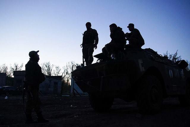Позиции ВСУ на Донбассе, иллюстрация.